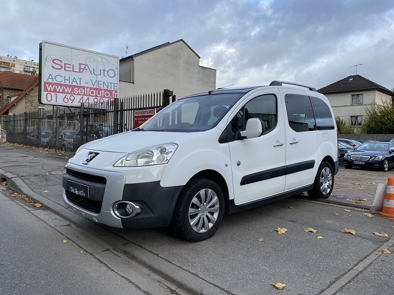 Peugeot PARTNER TEPEE 1.6 HDI90 OUTDOOR Diesel BLANC Occasion à vendre